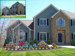 Small Picture Outdoor Garden Simple Front Yard Landscaping Ideas With Green Grass