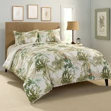 Image of: Palm Tree Quilt Set