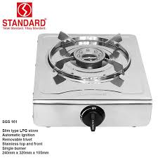 kitchen gas stove. STANDARD SGS-161 Single Burner Gas Stove Kitchen
