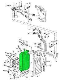 porsche front radiator oil cooler  porsche 911 1980 89