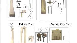 screen door latch repair awesome sliding handle removal designs pella blind