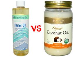 which is better coconut oil or castor oil