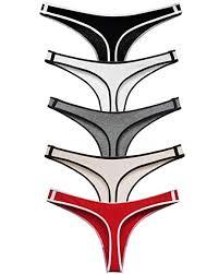 ETAOLINE Women's Cotton Thong Underwear Sport ... - Amazon.com