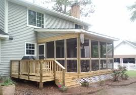 screened in porch covered decks
