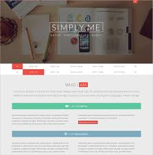 Personal Website Template Enchanting 28 Personal Website Themes Templates Free Premium Templates