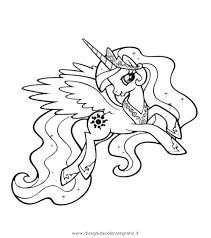 Disegno Piccoloponycelestia2 Personaggio Cartone Animato Da Colorare