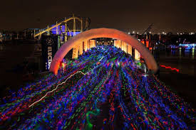 Christmas Lights At Del Mar Fairgrounds Electric Run To Take Over Del Mar Fairgrounds South