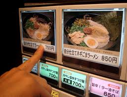 Ramen Vending Machine Tokyo Classy Crazy White Girl With A Kitchen Kouryu Ramen Naha