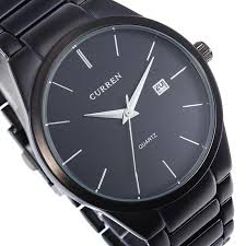 fashion curren 8106 black stainless steel round men quartz wrist fashion curren 8106 black stainless steel round men quartz wrist watch