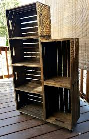 furniture made from wooden crates. diy wooden crate shoe rack furniture made from crates