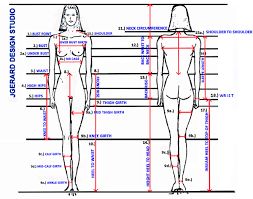 Female Measuring Chart Jgerard