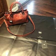 frye purses dillards red clay leather satchel bag purse wallet for