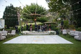 D Outdoor Dance Floor Ideas Reception Decor Photos Under  Strings