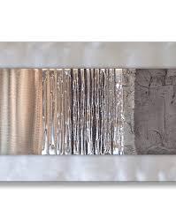 studio eglomise oak and grey metal wall art detail on silver grey metal wall art with oak grey studio eglomise