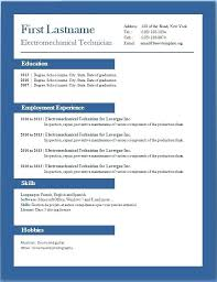 Free Resume Templates Microsoft Word 2007 Impressive Free Resume Templates Microsoft Word 28 Inspiration Ms Word Resume