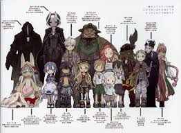 Made In Abyss Chart I Hadnt Seen This Height Comparison Before Sorry If Repost