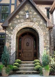 arched front doorAlder Doors  Rustic Exterior  Arch Top Doors