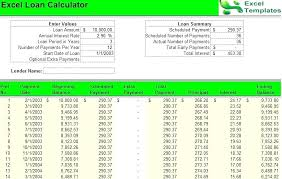 Debt Calculator Excel Loan Payoff Calculator Excel Template Inspirational Credit Card Debt