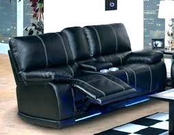 blue leather reclining sofa navy recliner manufacturers dual re home design couch set