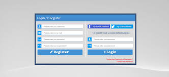 Registration Page Html Template Staggering Login And Registration Form In Html Template Css Free