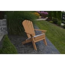 recycled plastic adirondack chairs. A\u0026L Furniture Co. Folding Adirondack Chair W/Cupholders - Rocking Recycled Plastic Chairs B