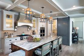 image of fantasy brown granite on white cabinets