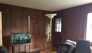 take your wood paneling from dated to