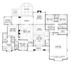 master bedroom with sitting area floor plan. Plan Of The Week: Chesnee #1290 | Story House, Screened Porches And Foyers Master Bedroom With Sitting Area Floor