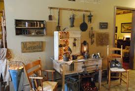 kitchen contemporary primitive table decor primitive country