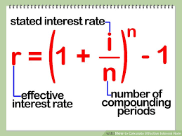 Loan Interest Calculator New How To Calculate Effective Interest Rate 44 Steps With Pictures