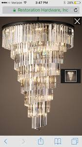 thoughts on rh chandelier