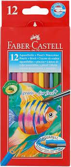 <b>Faber</b>-<b>Castell Акварельные карандаши</b> COLOUR <b>PENCILS</b> с ...