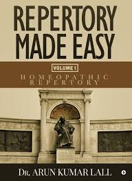 Homeopathy Repertory Chart Repertory Made Easy Volume 1 Homeopathic Repertory Amazon
