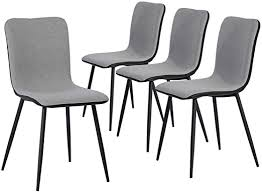 Coavas Dining Chairs Set of 4, Kitchen Chairs with ... - Amazon.com