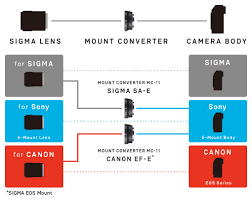 Canon Camera Lens Compatibility Chart Mount Converter Accessories Lenses Sigma Global Vision
