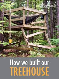 simple tree house pictures. How We Built Our Simple Treehouse Tree House Pictures I