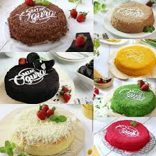 Batam Ogura Cake Halal Food Drinks Baked Goods On Carousell