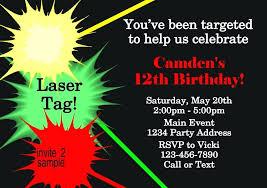 Free Laser Tag Invitation Template Laser Tag Invitation Wording Laser Tag Birthday Party Invitations