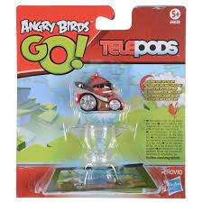 Angry Birds Go! Telepods Red & Super Roaster Red Bird Kart Collectible Age  5+- Buy Online in Qatar at Desertcart - 55472038.