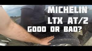 Michelin Light Truck Tires Ltx At2 Michelin Ltx At2 265 70 R18 Load E Tire Review