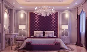Purple Wall Design For All 33 Purple Themed Bedrooms With Ideas Tips Accessories To