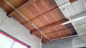 sandblasting brick before and after. sandblast commercial painted wood ceiling before and after - ace sandblasting corp. brick