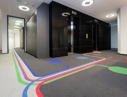 office flooring tiles. Colourful Modulyss Carpet Tiles In Poland Office Flooring