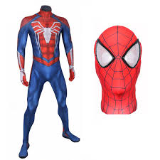 <b>SPIDER-MAN</b> COSPLAY <b>COSTUME</b> SUIT (<b>PS4 INSOMNIAC</b> VIDEO ...
