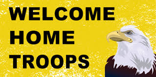 Sample Welcome Banner Welcome Home Troops Banner Template Banner Templates Pinterest