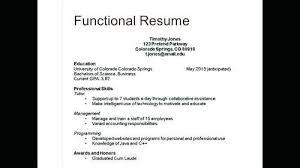 Three Types Of Resume Three Types Of Resume Formats Types Resumes