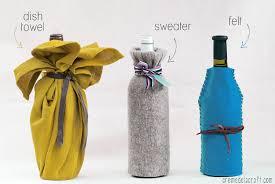 Wine Bottle Decorations Handmade DIY Wine Bottle Wrap 100 Ways 78
