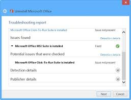 office uninstaller remove or uninstall microsoft office 2016 or office 365
