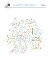 Coloriage De La Maison En Pain D Pices Momes Net