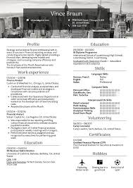 Resume Examples By Real People Financial Analyst Resume
